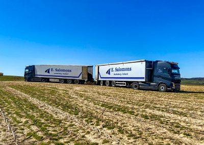 Salomons Transport Hardenberg Walkingfloor trailers